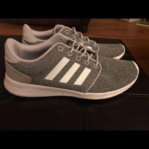 Grey adidas sneakers
